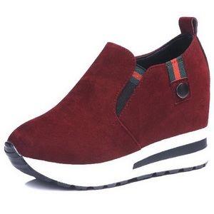 Shoes - Platform wedge sneakers